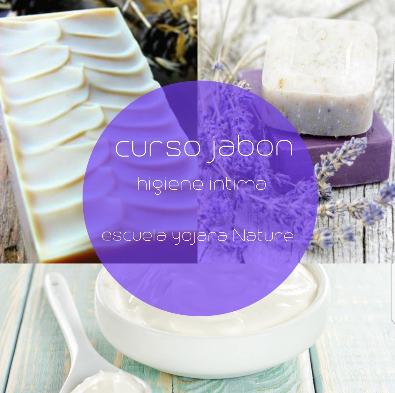 curso cosmetica natural, curso jabon higiene intima