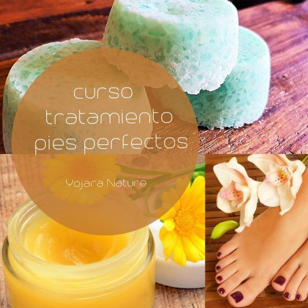 curso cosmetica natural, curso tratamiento pies perfectos