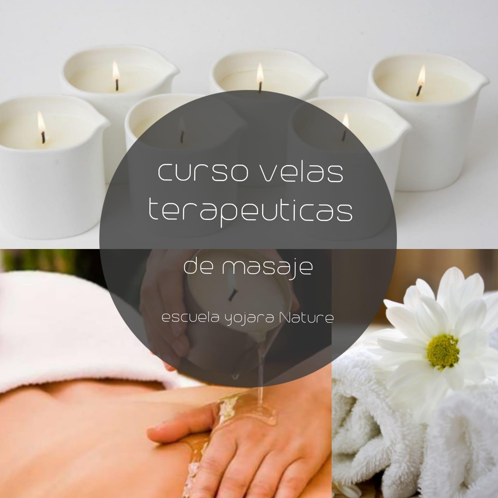 curso cosmetica natural, curso velas terapeuticas de masaje