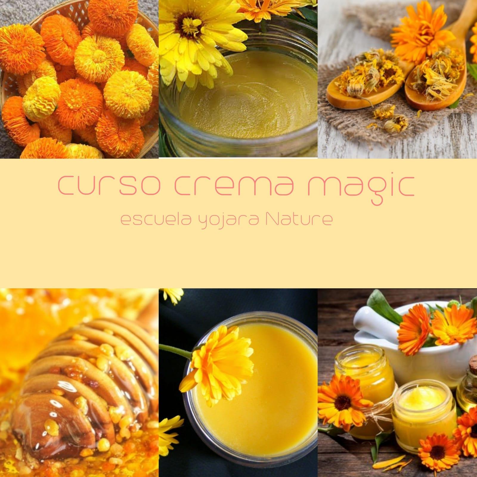 curso cosmetica natural, curso crema magic