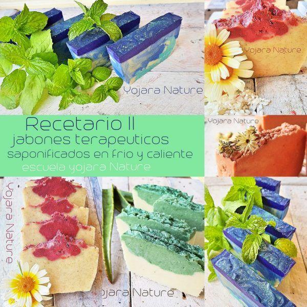 curso cosmetica natural, recetario II jabones terapeuticos