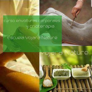 curso cosmetica natural, curso envolturas corporales y crioterapia