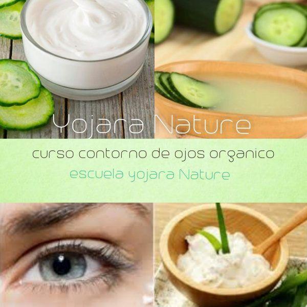 curso cosmetica natural, curso contorno de ojos organico