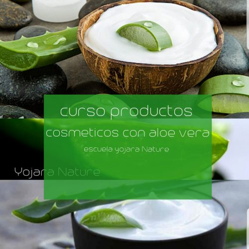curso cosmetica natural, curso cosmeticos con aloe vera