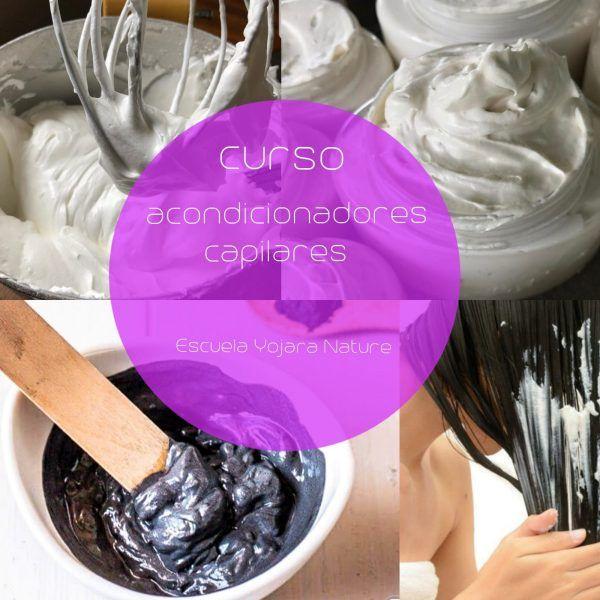 curso cosmetica natural, curso acondicionadores capilares