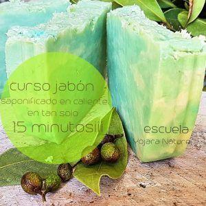 Curso cosmetica natural, Curso jabon 15 minutos