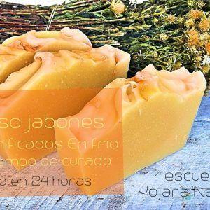 Curso de jabones saponificados en frío (Sin tiempo de curado)