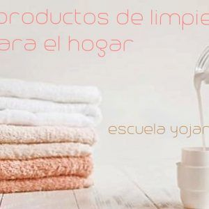 Curso productos de limpieza para el hogar.